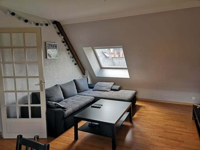 Appartement T2 dans le centre-ville de Lamballe