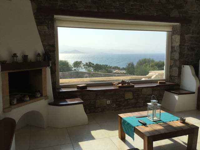 Quiet, great view, large balcony, 5 min to Village