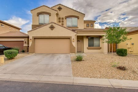 clean, gated, 4bed, in quiet area w/pool n jacuzzi - Peoria