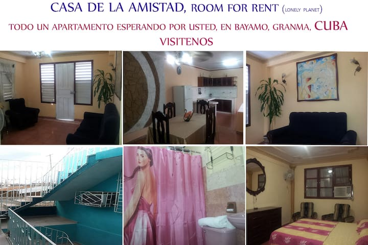 BEAUTIFUL APARTMENT AND CONFORT, HOTELER LA AMISTA - Bayamo - Condominium