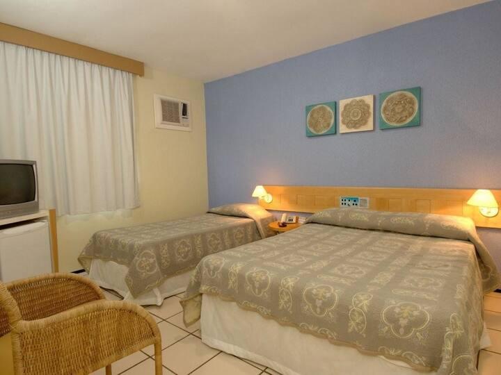 Sambura Praia Hotel - Apartamento Lateral Mar
