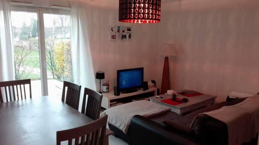 Bel appartement proche Stade Malherbe - Caen