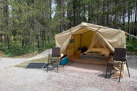 Glamp Glacier! Glamping near Glacier National Park