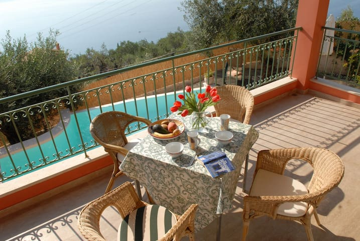 Villa Vigla, private pool, stunning seaviews