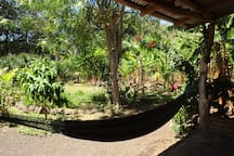 hammock chill-out area