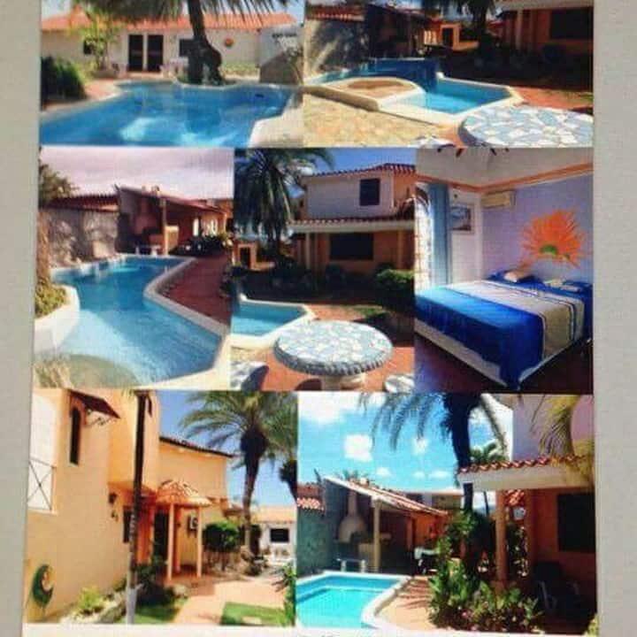 Magnifique maison dans les caraïbes
