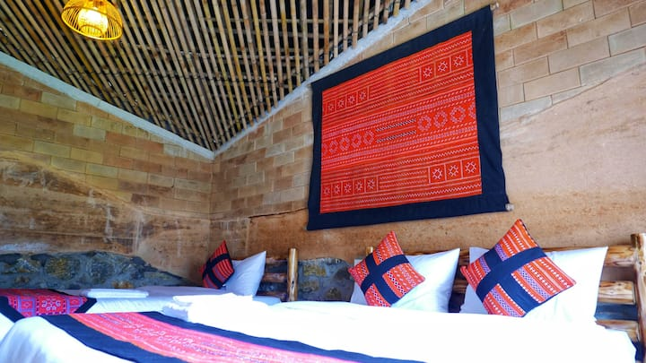 Bungalow#6 -Ngu Chi Son: Sapa Mountain Eco Lodge