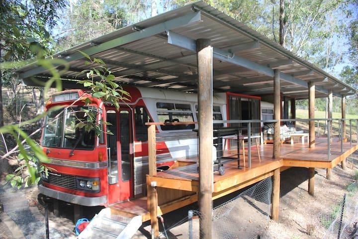 The Bus Stop at Beautiful Gleniffer near Bellingen