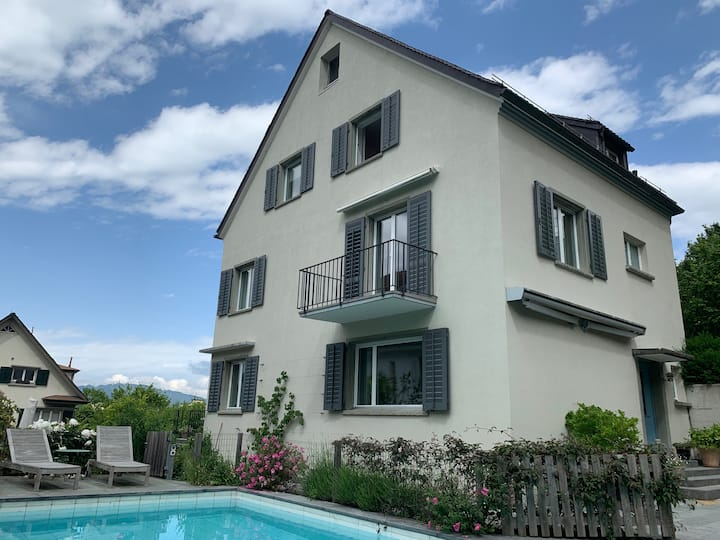 House with pool in a great/quiet area in Zurich