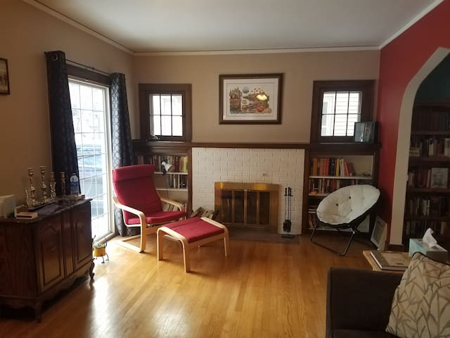 Charming Light Filled Home Near Campus