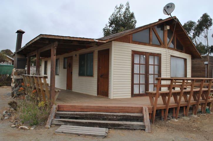 Casa Pichidangui, para 9 personas.
