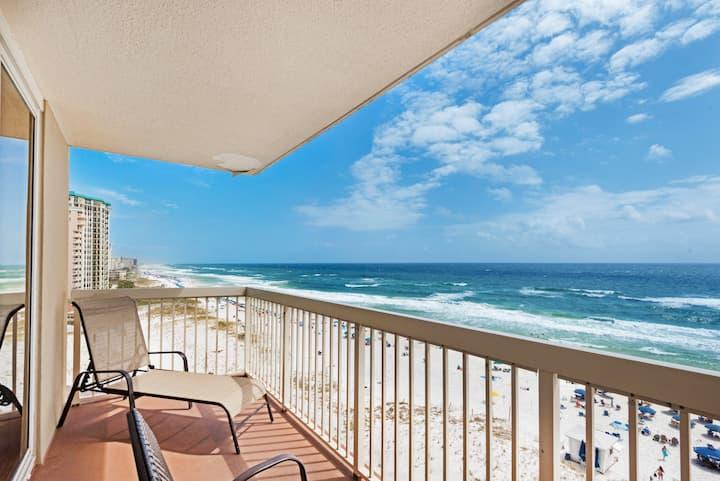 Bk4Spring☀Views☀Heated Pool☀2x Sanitizing Process☀2BR Pelican Beach Resort 801