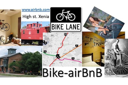 Bike AirBnB Finished Basement Apt.