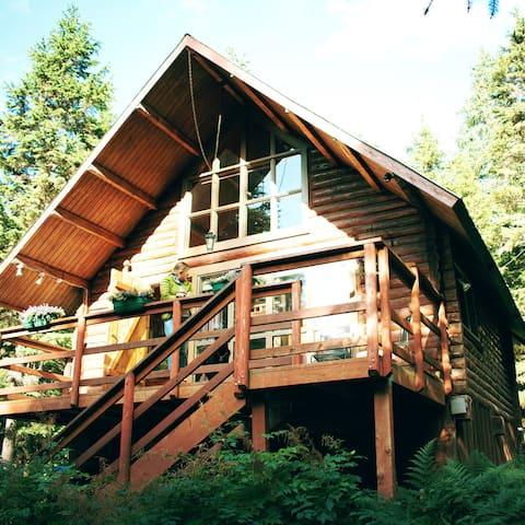 "Alyeska Hideaway Log Cabins ""Alyeska Cabin"""