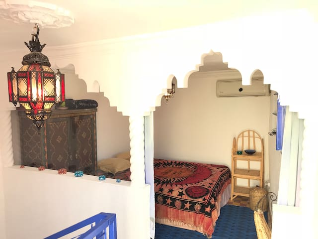Double room with a terrace in the Medina's heart