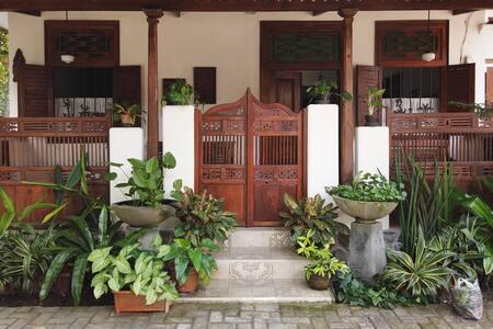 Semi-traditional Javanese house