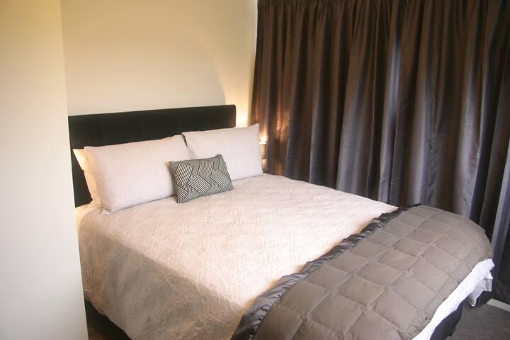Cosy warm bedrooms