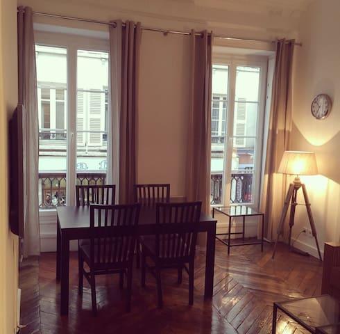 Appartement de charme Parisien 45m2 Paris 75009 - Pariisi - Huoneisto