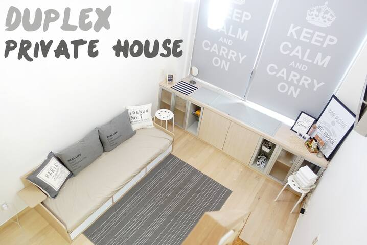 Private  LOFT Studio[Full Equipped] 2 min SUBWAY! - Eunpyeong-gu