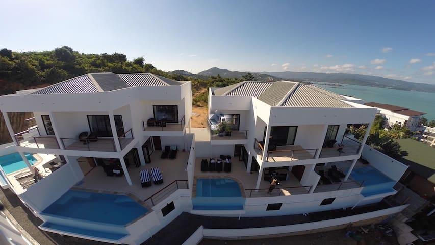 Ocean Villas    2, 3 ou 5 chambres