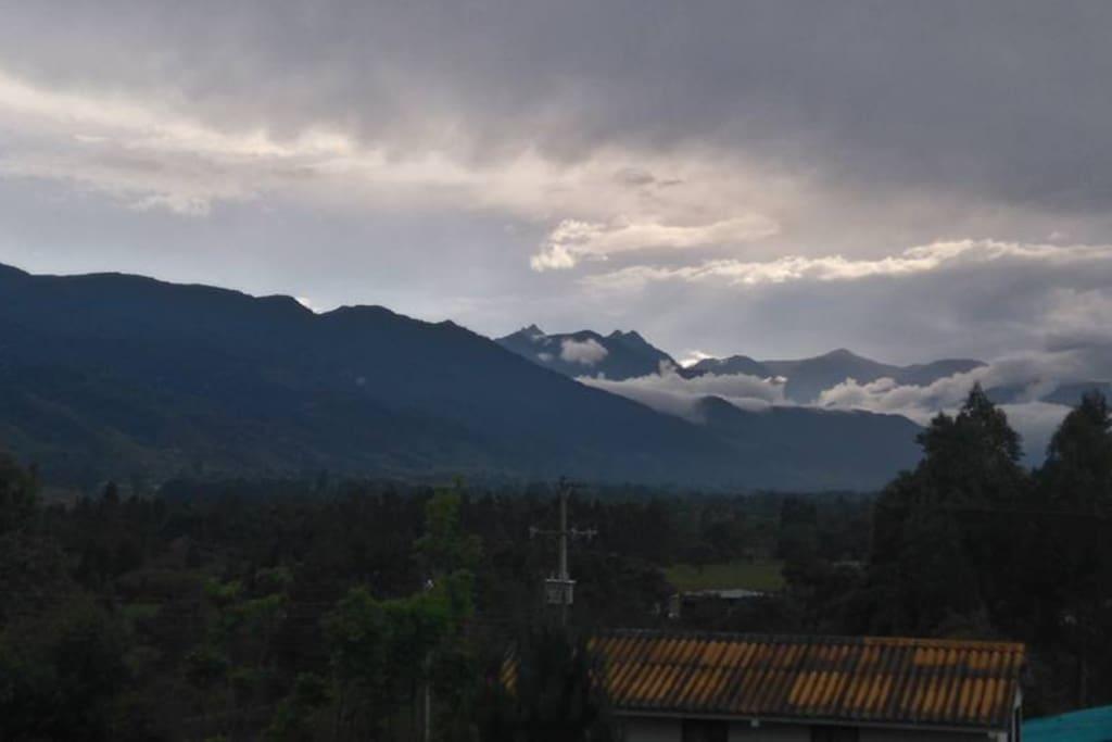 Vista Cerro de Patascoy