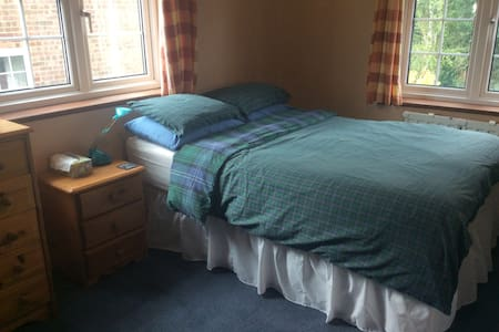 Double bed with next door bathroom - Billericay