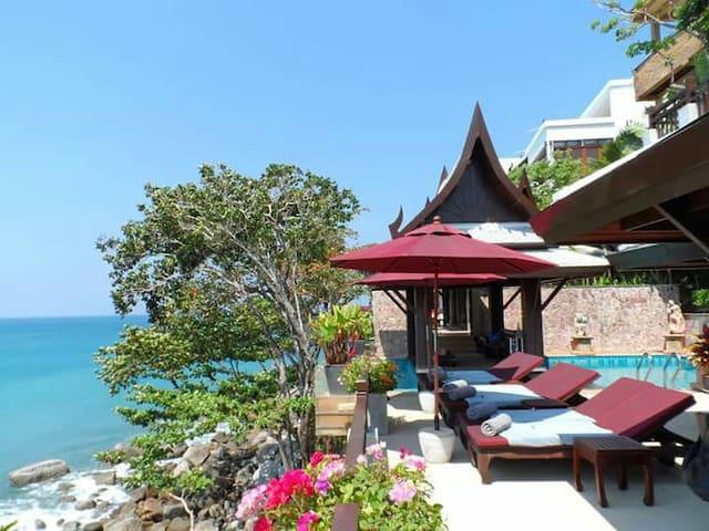 Stunning ceanfront 6BR luxury villa - Kathu - Villa