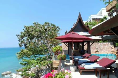 Stunning ceanfront 6BR luxury villa - Kathu