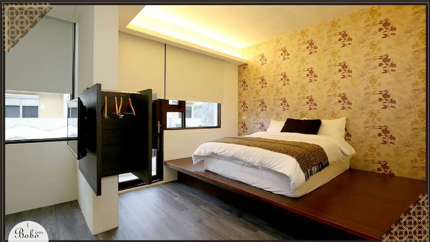 BoBo旅店:2-6人房