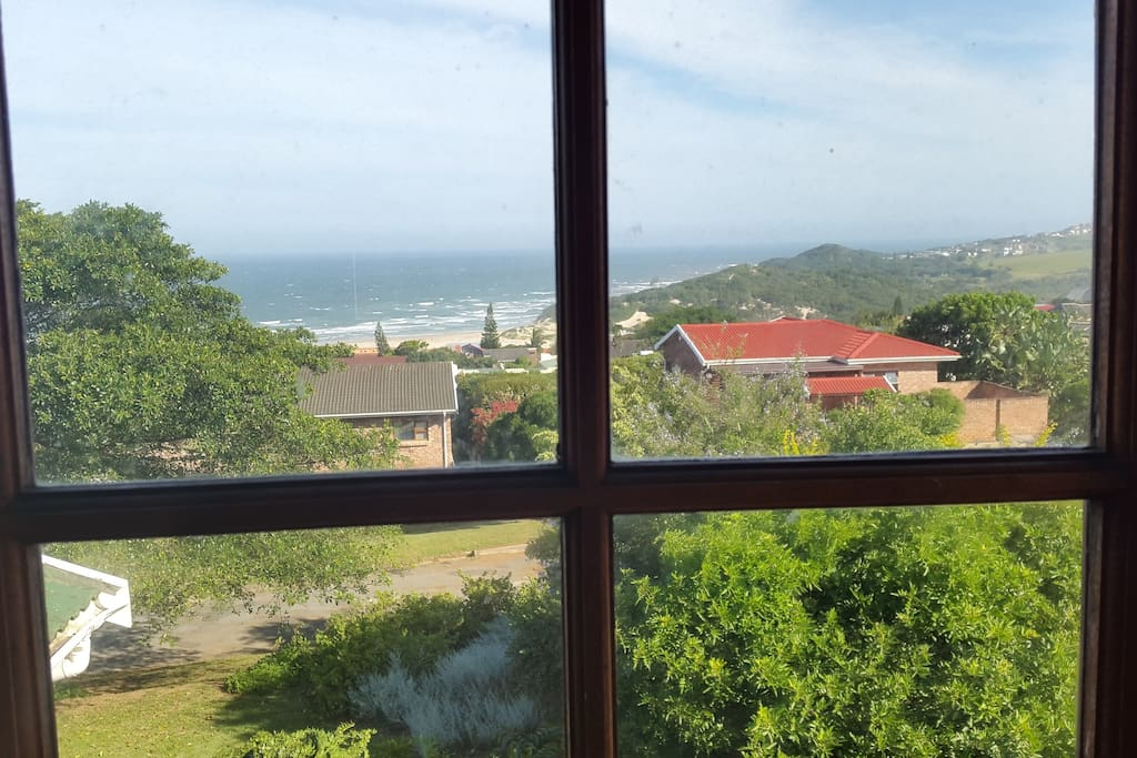 View from front guest room