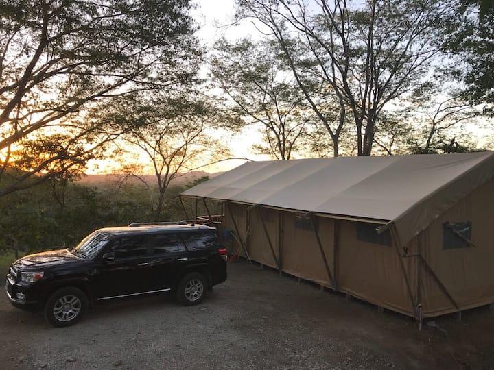 GUANAGLAMP - Our Safari Tent!