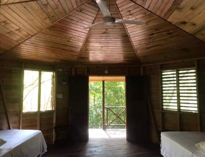 Retreat venue in the lush green hills of Negril