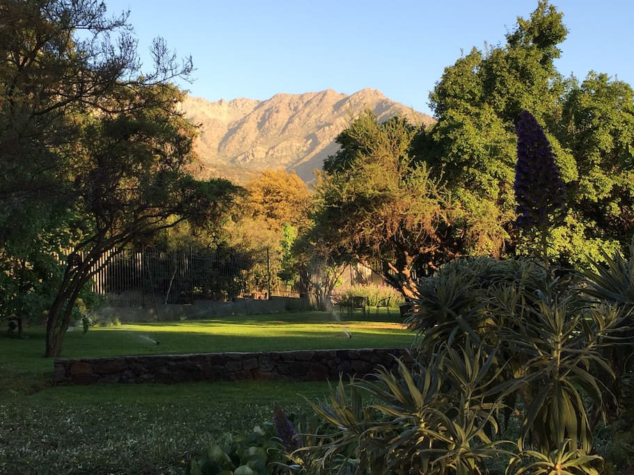 Located inside a private park on the hills surrounding Santiago and only 15 Km from Plaza de Armas.