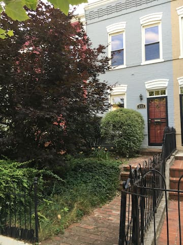 Charming Capitol Hill Row House