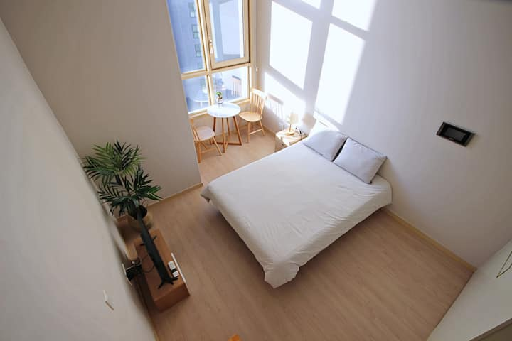 #4 COZY HOUSE, 아늑하고 넓은 복층집/현대백화점/하이닉스/출장/휴가