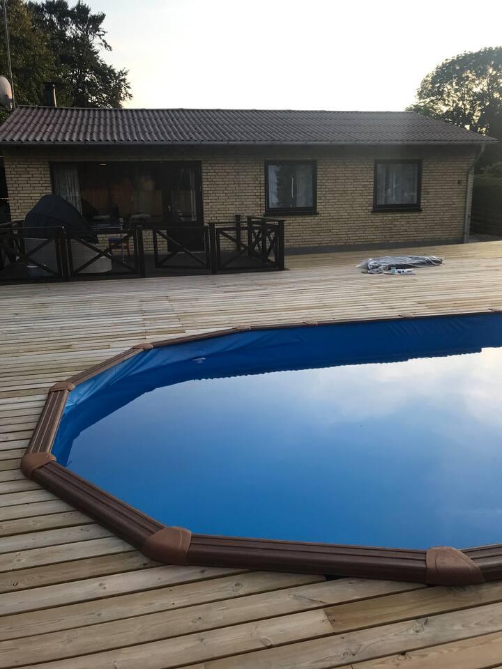 Villa 118 km2 med swimmingpool