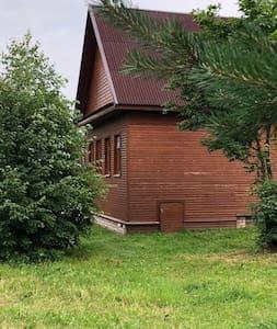 Дом с конюшней в Экопарке Акулово