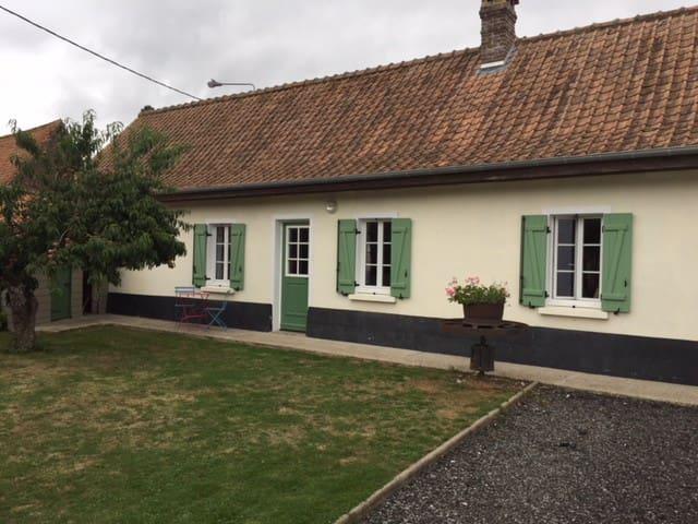 Maison typique au cœur de la Baie de Somme...