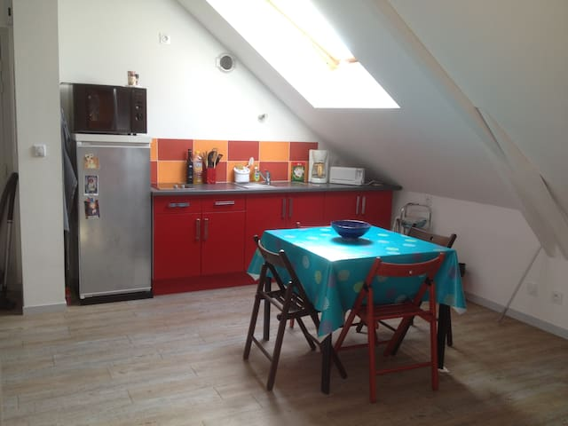 Appartement T2  45 m², Parking Gratuit - Chantepie - Apartment