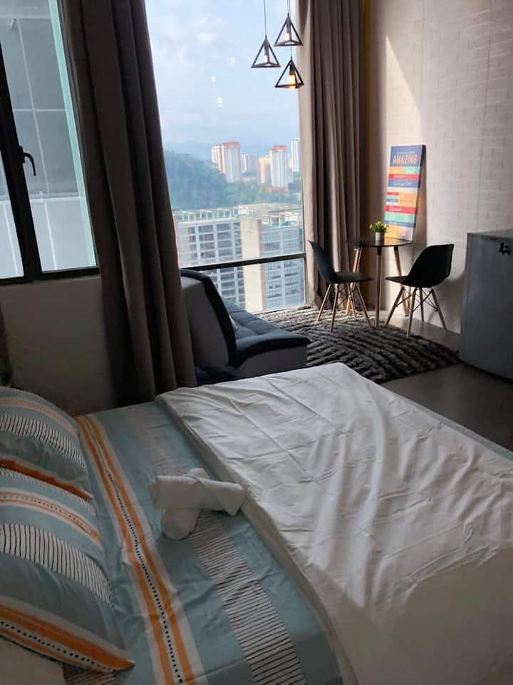 [The E] Comfy Home Empire Damansara Perdana Studio