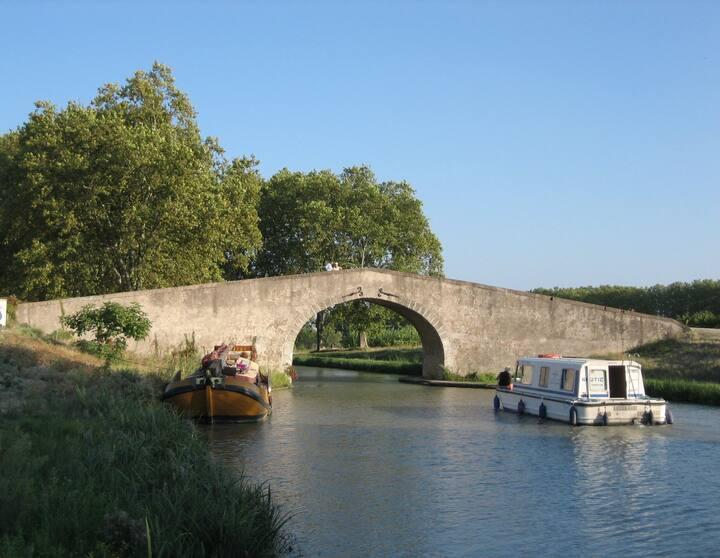 Charmante maison de village - Canal du Midi