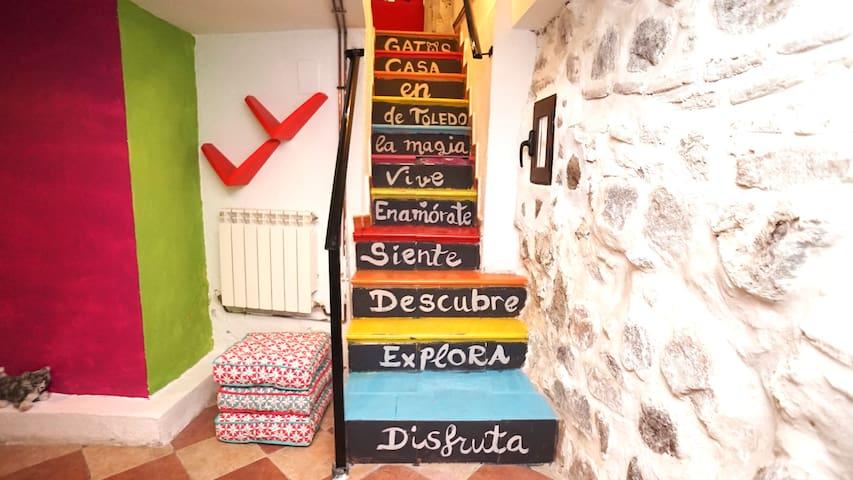 Disfruta, explora, descubre, siente, enamórate y vive la magia de Toledo en Casa Gatos // Enjoy, explore, discover, feel, get in love and live the magic of Toledo at Casa Gatos
