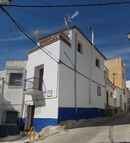 a two bedroom three storey house - Órgiva - Huis
