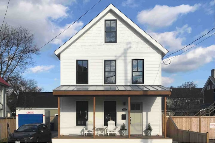 Stunning Rustically Modern Downtown Lewes Home