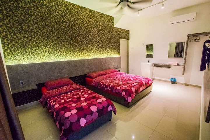 Kuantan homestay 3pax room+Free Wi-Fi