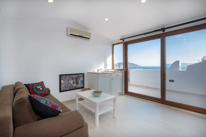 Yogahouse Studio, Apartment with Meis view...