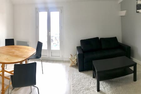 Newly refurbished apartment 60 m² near Paris