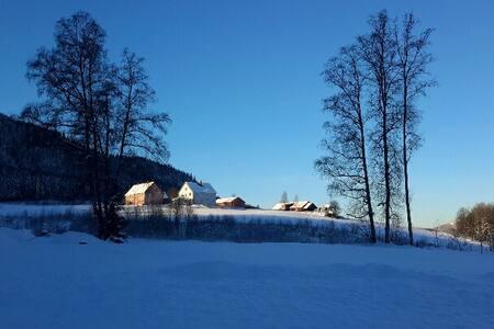 Cozy single room, Bjerke Farm - Lillehammer