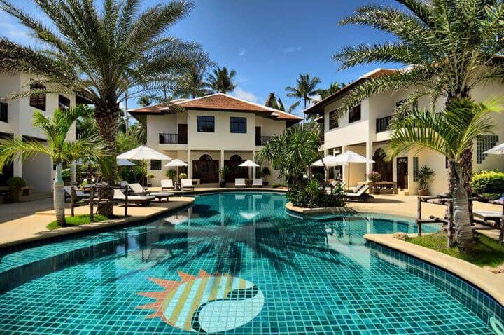 Luxury 2 Bedroom Poolside Villa 4