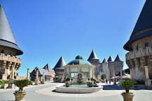 Ba Na Hills ~ 30 minutes by car or taxi.